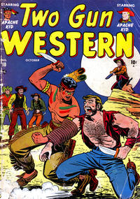 Cover Thumbnail for Two Gun Western (Marvel, 1950 series) #10