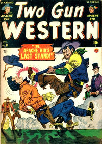 Cover Thumbnail for Two Gun Western (Marvel, 1950 series) #11