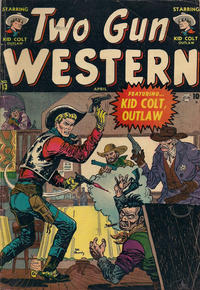 Cover Thumbnail for Two Gun Western (Marvel, 1950 series) #13