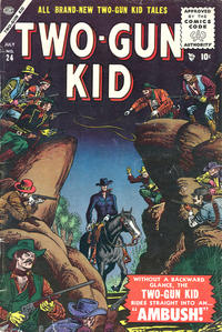 Cover Thumbnail for Two Gun Kid (Marvel, 1953 series) #24