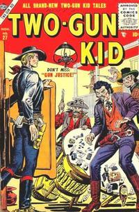 Cover Thumbnail for Two Gun Kid (Marvel, 1953 series) #27