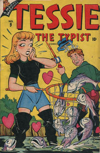 Cover Thumbnail for Tessie the Typist Comics (Marvel, 1944 series) #9