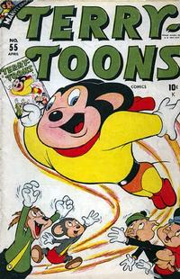 Cover Thumbnail for Terry-Toons Comics (Marvel, 1942 series) #55