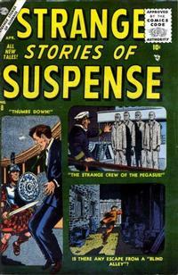 Cover Thumbnail for Strange Stories of Suspense (Marvel, 1955 series) #8