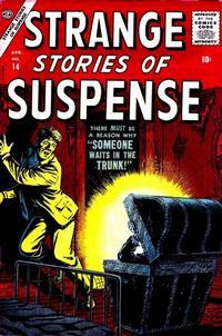 Cover Thumbnail for Strange Stories of Suspense (Marvel, 1955 series) #14