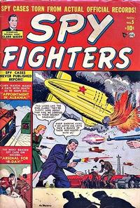Cover Thumbnail for Spy Fighters (Marvel, 1951 series) #5