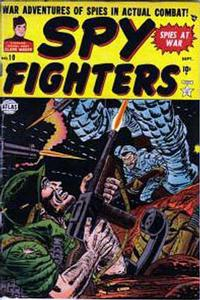 Cover Thumbnail for Spy Fighters (Marvel, 1951 series) #10