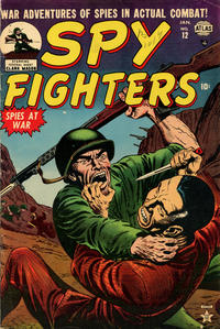 Cover Thumbnail for Spy Fighters (Marvel, 1951 series) #12