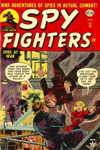 Cover Thumbnail for Spy Fighters (Marvel, 1951 series) #13