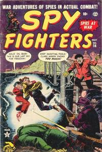 Cover Thumbnail for Spy Fighters (Marvel, 1951 series) #14