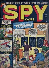 Cover Thumbnail for Spy Cases (Marvel, 1951 series) #5