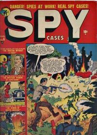 Cover Thumbnail for Spy Cases (Marvel, 1951 series) #6