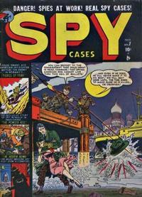 Cover Thumbnail for Spy Cases (Marvel, 1951 series) #7