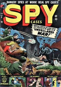 Cover Thumbnail for Spy Cases (Marvel, 1951 series) #9