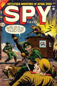 Cover Thumbnail for Spy Cases (Marvel, 1951 series) #12