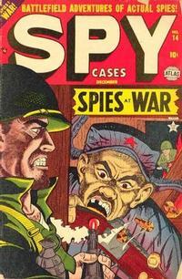 Cover Thumbnail for Spy Cases (Marvel, 1951 series) #14