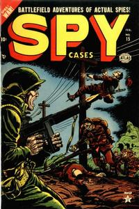 Cover Thumbnail for Spy Cases (Marvel, 1951 series) #15