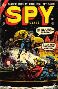 Cover Thumbnail for Spy Cases (Marvel, 1951 series) #17
