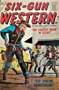 Cover Thumbnail for Six-Gun Western (Marvel, 1957 series) #1