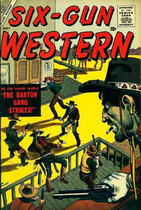 Cover Thumbnail for Six-Gun Western (Marvel, 1957 series) #3