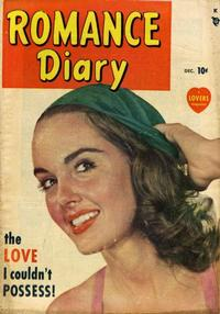 Cover Thumbnail for Romance Diary (Marvel, 1949 series) #1