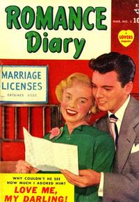 Cover Thumbnail for Romance Diary (Marvel, 1949 series) #2