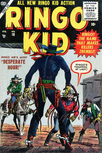 Cover Thumbnail for The Ringo Kid Western (Marvel, 1954 series) #10