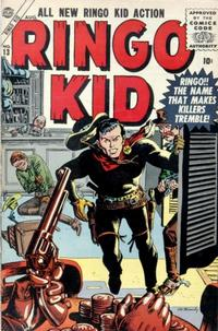 Cover Thumbnail for The Ringo Kid Western (Marvel, 1954 series) #13