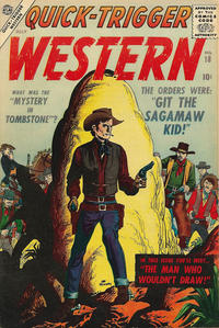 Cover Thumbnail for Quick Trigger Western (Marvel, 1956 series) #18