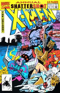 Cover Thumbnail for The Uncanny X-Men Annual (Marvel, 1992 series) #16 [Direct Edition]