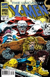 Cover Thumbnail for The Uncanny X-Men Annual (Marvel, 1992 series) #18 [Direct Edition]
