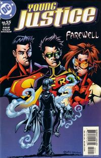 Cover Thumbnail for Young Justice (DC, 1998 series) #55