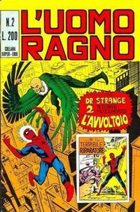 Cover Thumbnail for L'Uomo Ragno [Collana Super-Eroi] (Editoriale Corno, 1970 series) #2