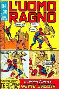 Cover Thumbnail for L'Uomo Ragno [Collana Super-Eroi] (Editoriale Corno, 1970 series) #4