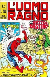 Cover Thumbnail for L'Uomo Ragno [Collana Super-Eroi] (Editoriale Corno, 1970 series) #5