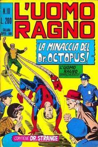 Cover Thumbnail for L'Uomo Ragno [Collana Super-Eroi] (Editoriale Corno, 1970 series) #10