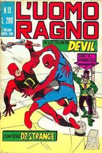 Cover Thumbnail for L'Uomo Ragno [Collana Super-Eroi] (Editoriale Corno, 1970 series) #13