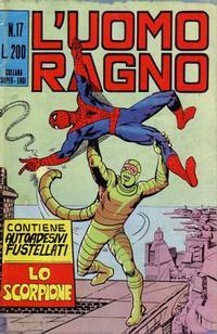 Cover Thumbnail for L'Uomo Ragno [Collana Super-Eroi] (Editoriale Corno, 1970 series) #17