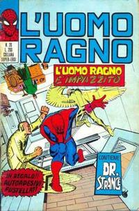 Cover Thumbnail for L'Uomo Ragno [Collana Super-Eroi] (Editoriale Corno, 1970 series) #20