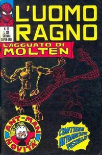 Cover Thumbnail for L'Uomo Ragno [Collana Super-Eroi] (Editoriale Corno, 1970 series) #22