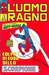 Cover Thumbnail for L'Uomo Ragno [Collana Super-Eroi] (Editoriale Corno, 1970 series) #23