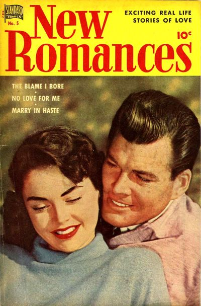 Cover for New Romances (Pines, 1951 series) #5