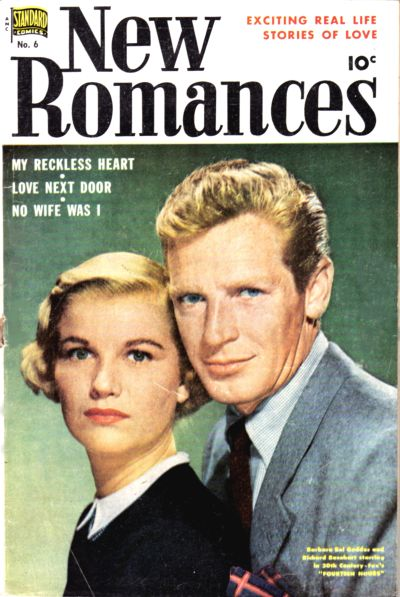 Cover for New Romances (Pines, 1951 series) #6
