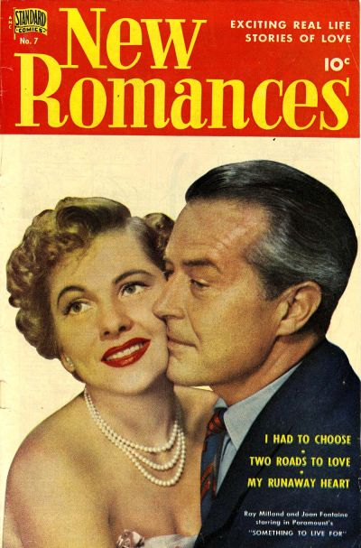 Cover for New Romances (Pines, 1951 series) #7