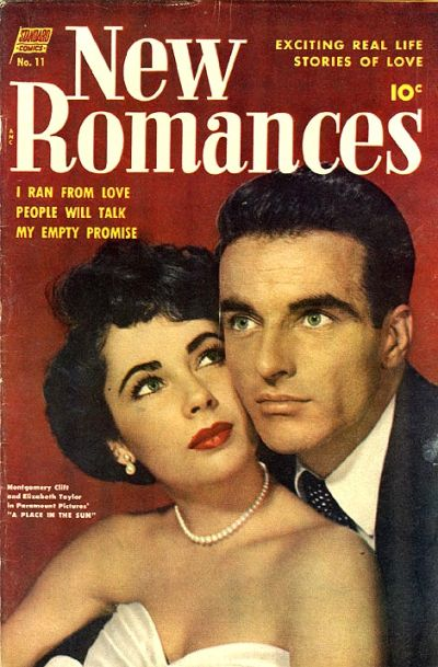 Cover for New Romances (Pines, 1951 series) #11