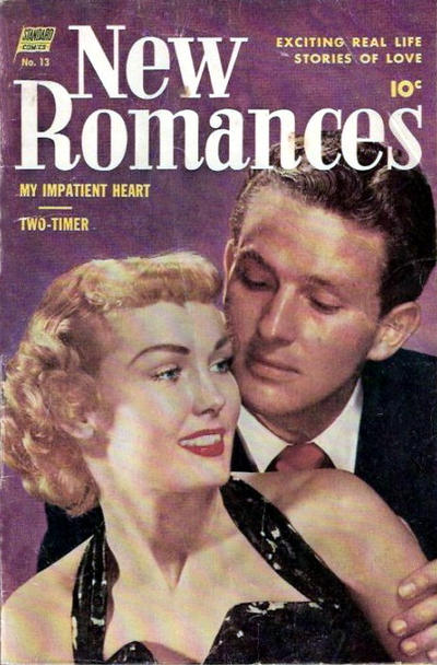 Cover for New Romances (Pines, 1951 series) #13