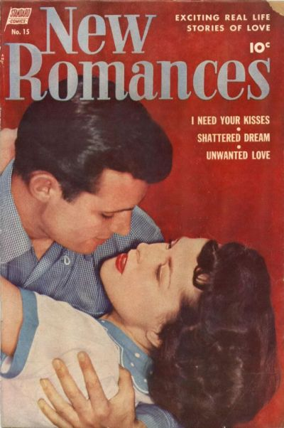 Cover for New Romances (Pines, 1951 series) #15
