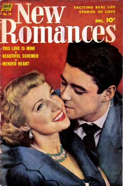 Cover for New Romances (Pines, 1951 series) #19