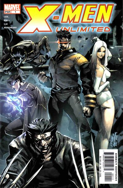 Cover for X-Men Unlimited (Marvel, 2004 series) #1