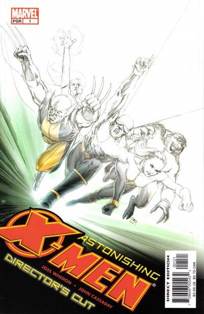 Cover for Astonishing X-Men Director's Cut (Marvel, 2004 series) #1